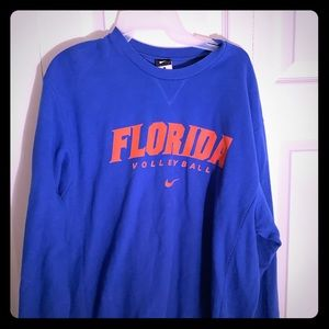Ladies Florida Gators Volleyball Sweatshirt Size L